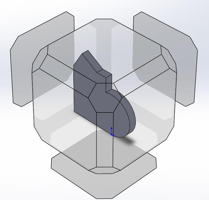 Управление 3D-моделью в графической области