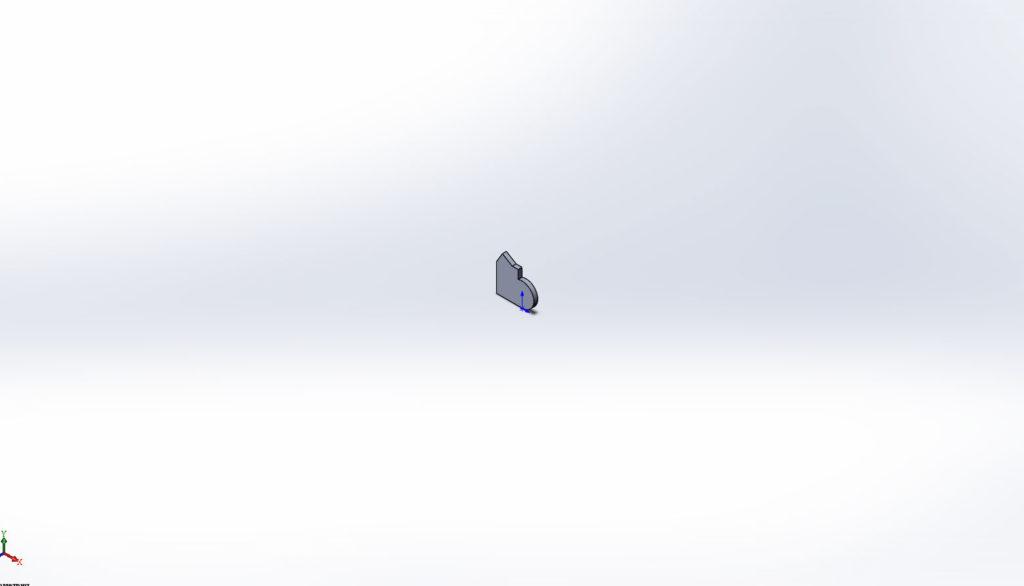 Отдаленная 3д модели в SolidWorks