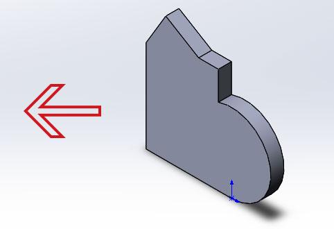 Перемещение 3д модели в SolidWorks с помощью инструмента переместить
