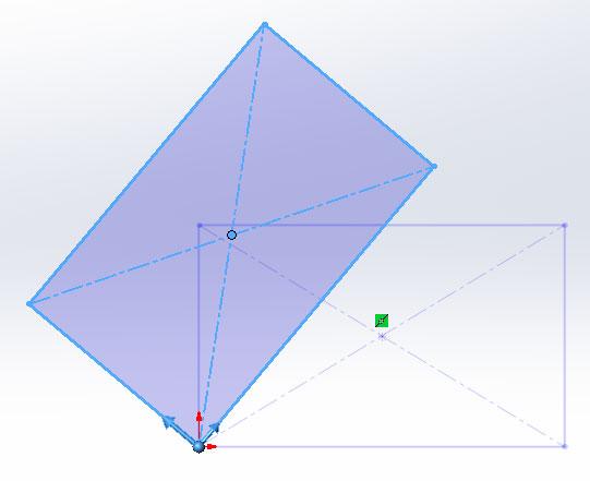 Перемещение, Копирование, Поворот, Масштабирование и Растяжение эскиза в SolidWorks