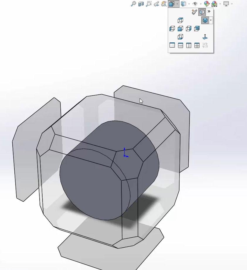 Настройка режима моделирования в SolidWorks