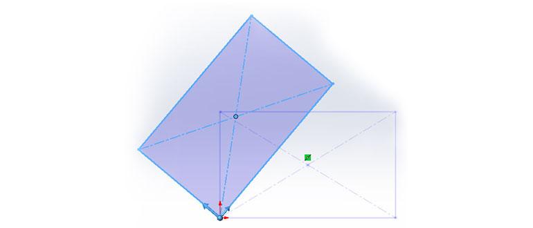 7. Перемещение, Копирование, Поворот, Масштабирование и Растяжение эскиза в SolidWorks