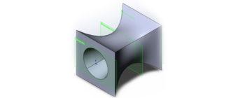 3D-модель-в-SolidWorks,-Бобышка-по-сечениям-и-Вырез-по-сечениям