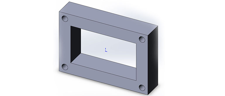 3D-модель-в-SolidWorks,-Вытянутая-бобышка-и-вытянутый-вырез