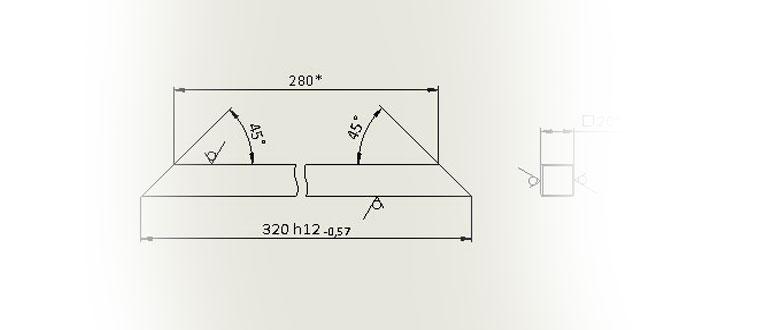 Чертеж-царги-в-SolidWorks-по-ГОСТ