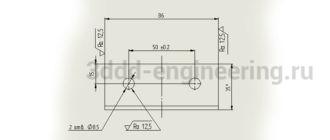 Чертеж-губки-неподвижной-по-ГОСТ-в-SolidWorks