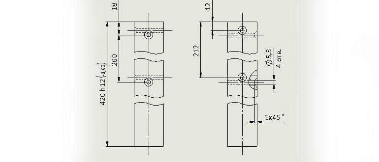 Чертеж-ножки-табурета-в-SolidWorks