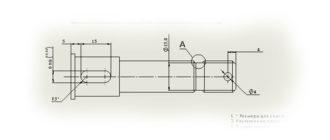 Чертеж-оси-с-3D-модели-в-SolidWorks