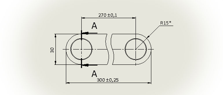 Чертеж-шатуна-с-3D-модели-в-SolidWorks