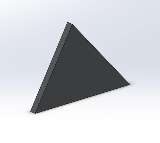 Чертеж косынки в SolidWorks