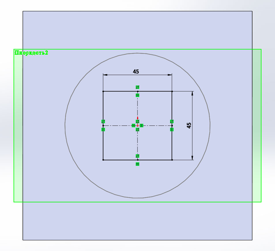 3D модель в SolidWorks, Бобышка по сечениям и Вырез по сечениям