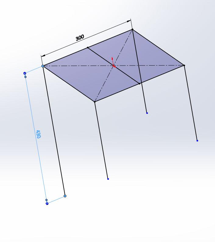 3D эскиз в SolidWorks
