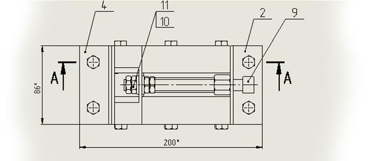 Мини-тиски,-сборочный-чертеж-по-ГОСТ-в-SolidWorks
