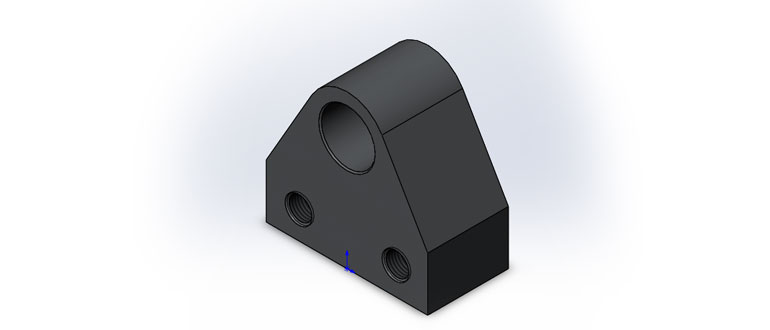 Опора,-3D-модель-в-SolidWorks