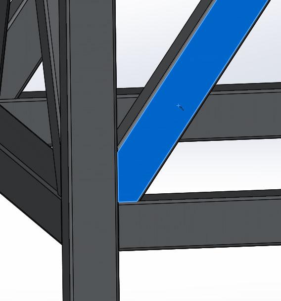 Сварочная конструкция в SolidWorks часть 2