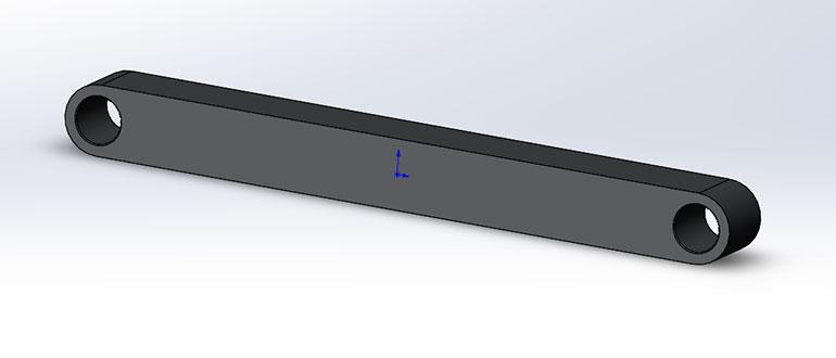 Шатун,-3D-модель-в-SolidWorks