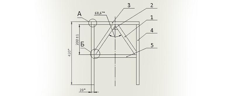 Сборочный-чертеж-металлоконструкции-в-SolidWorks
