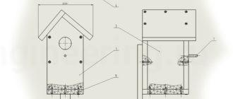 Сборочный-чертеж-скворечника-в-SolidWorks
