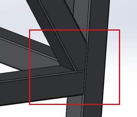 Добавление сварочного шва в сварную конструкцию в SolidWorks