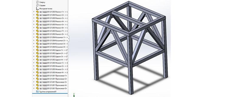 Создание-сборки-из-металлоконструкции-в-SolidWorks