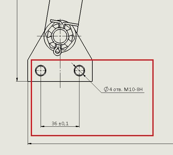 Сборочный чертеж кривошипно-коромыслового механизма в SolidWorks часть 2.