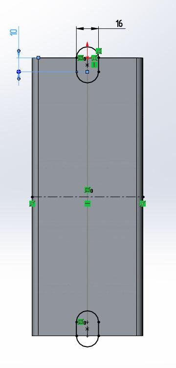 Основание из трубы ГОСТ 8645-68 в SolidWorks